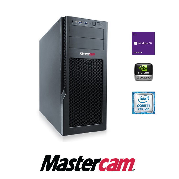 Mastercam CAD/CAM Workstation Stufe 3